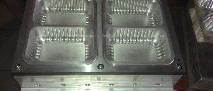 оснастка для изготовления лотков для мяса и птицы