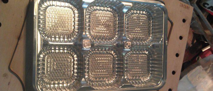 оснастка для изготовления полимерной упаковки для печенья