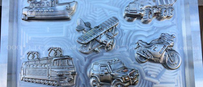 оснастка для изготовления полимерной упаковки развивающих игрушек